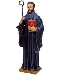Saint Benedict Christian Statue Mystic Convergence Metaphysical Supplies Metaphysical Supplies, Pagan Jewelry, Witchcraft Supply, New Age Spiritual Store