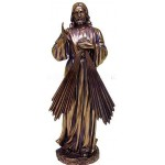 Divine Mercy Jesus Christian Bronze Statue at Mystic Convergence Metaphysical Supplies, Metaphysical Supplies, Pagan Jewelry, Witchcraft Supply, New Age Spiritual Store