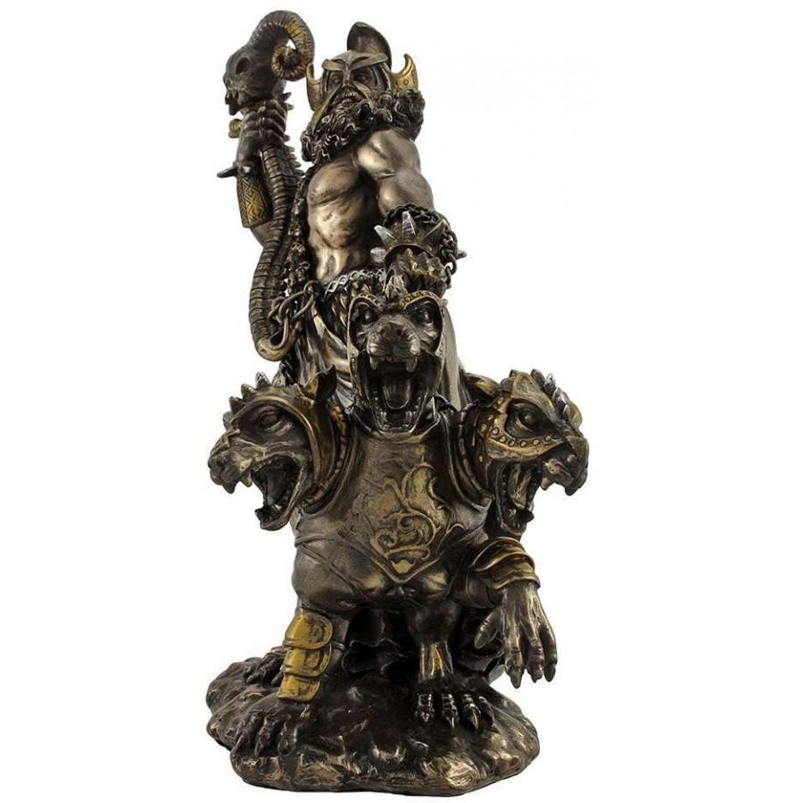 Greek gods statues hades