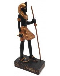 Egyptian Tomb Guardian Mini Statue Black and Gold Mystic Convergence Metaphysical Supplies Metaphysical Supplies, Pagan Jewelry, Witchcraft Supply, New Age Spiritual Store