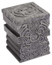 Celtic Cross Lift Top Trinket Box Mystic Convergence Metaphysical Supplies Metaphysical Supplies, Pagan Jewelry, Witchcraft Supply, New Age Spiritual Store