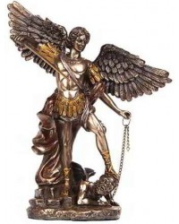 Archangel Michael Bronze Christian Statue Mystic Convergence Metaphysical Supplies Metaphysical Supplies, Pagan Jewelry, Witchcraft Supply, New Age Spiritual Store