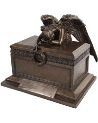 Angel of Bereavement Bronze Memorial Urn Mystic Convergence Metaphysical Supplies Metaphysical Supplies, Pagan Jewelry, Witchcraft Supply, New Age Spiritual Store