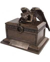 Angel of Bereavement Bronze Memorial Urn