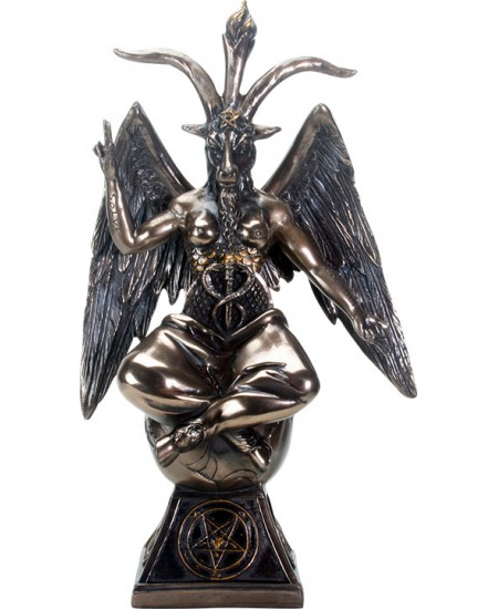 Baphomet Horned God Goat Statue at Mystic Convergence Metaphysical Supplies, Metaphysical Supplies, Pagan Jewelry, Witchcraft Supply, New Age Spiritual Store