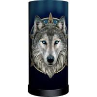 Wild One Wolf Lamp
