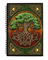 Circle of Life Tree Journal Mystic Convergence Metaphysical Supplies Metaphysical Supplies, Pagan Jewelry, Witchcraft Supply, New Age Spiritual Store