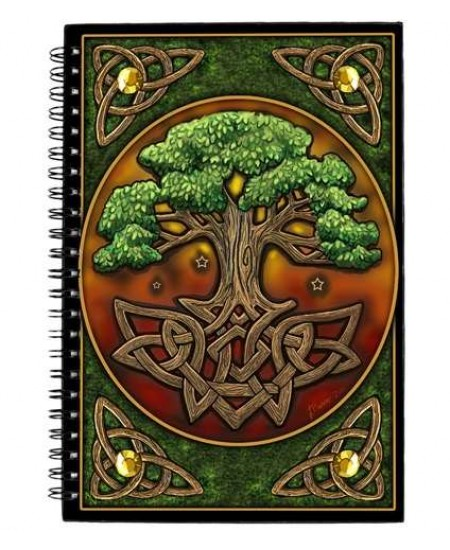 Circle of Life Tree Journal at Mystic Convergence, Wiccan Supplies, Pagan Jewelry, Witchcraft Supplies, New Age Store
