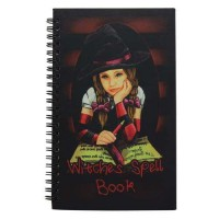 Matilda Little Witch Blank Spell Book