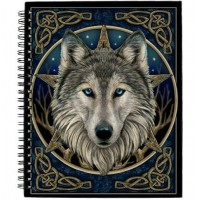 The Wild One Wolf Blank Journal