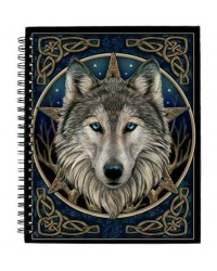 The Wild One Wolf Blank Journal Mystic Convergence Wiccan Supplies, Pagan Jewelry, Witchcraft Supplies, New Age Store