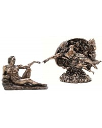 Creation of Man by Michelangelo Museum Replica Statue Set Mystic Convergence Metaphysical Supplies Metaphysical Supplies, Pagan Jewelry, Witchcraft Supply, New Age Spiritual Store
