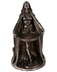 Danu Celtic Goddess Bronze Resin 16 Inch Statue Mystic Convergence Metaphysical Supplies Metaphysical Supplies, Pagan Jewelry, Witchcraft Supply, New Age Spiritual Store