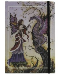 Dragon Charmer Embossed Fairy Journal Mystic Convergence Metaphysical Supplies Metaphysical Supplies, Pagan Jewelry, Witchcraft Supply, New Age Spiritual Store