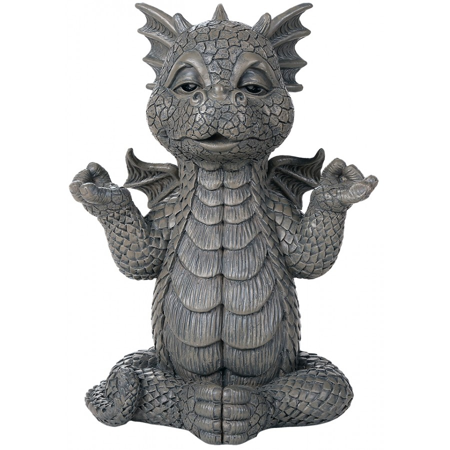 Meditating Dragon Garden Statue At Mystic Convergence Magical Supplies,  Wiccan Supplies, Pagan Jewelry,