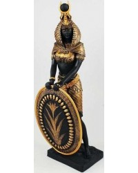 Isis Egyptian Goddess with Shield Statue -11 Inches Mystic Convergence Metaphysical Supplies Metaphysical Supplies, Pagan Jewelry, Witchcraft Supply, New Age Spiritual Store
