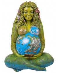 Gaia Mother Earth 24 Inch Statue Mystic Convergence Metaphysical Supplies Metaphysical Supplies, Pagan Jewelry, Witchcraft Supply, New Age Spiritual Store