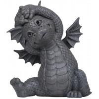 Garden Dragon Yoga Stretch Statue