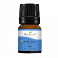 Blue Tansy Organic Essential Oil for Allergies, Confidence