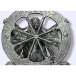 Arianrhod Wheel of the Year Bone Finish Resin Statue at Mystic Convergence Metaphysical Supplies, Metaphysical Supplies, Pagan Jewelry, Witchcraft Supply, New Age Spiritual Store