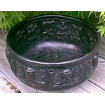 Gundustrup 12 Inch Resin Cauldron at Mystic Convergence Metaphysical Supplies, Metaphysical Supplies, Pagan Jewelry, Witchcraft Supply, New Age Spiritual Store