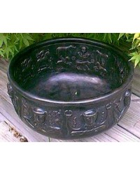 Gundustrup 12 Inch Resin Cauldron Mystic Convergence Metaphysical Supplies Metaphysical Supplies, Pagan Jewelry, Witchcraft Supply, New Age Spiritual Store