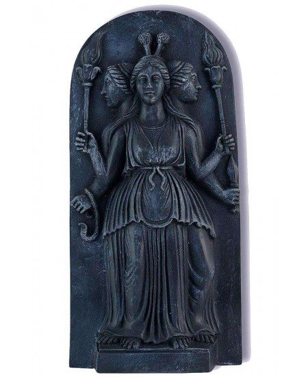 Hecate Goddess of the Night Plaque at Mystic Convergence Metaphysical Supplies, Metaphysical Supplies, Pagan Jewelry, Witchcraft Supply, New Age Spiritual Store
