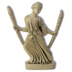 Hecate with Torches Greek Goddess Statue