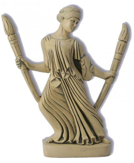 Hecate with Torches Greek Goddess Statue at Mystic Convergence, Wiccan Supplies, Pagan Jewelry, Witchcraft Supplies, New Age Store