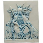 Odin Norse All-Father God Plaque at Mystic Convergence Metaphysical Supplies, Metaphysical Supplies, Pagan Jewelry, Witchcraft Supply, New Age Spiritual Store