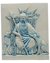Odin Norse All-Father God Plaque