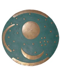 Sky Disc of Nebra Bronze Plaque Mystic Convergence Metaphysical Supplies Metaphysical Supplies, Pagan Jewelry, Witchcraft Supply, New Age Spiritual Store