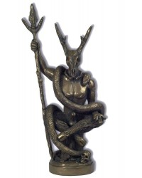 Witch Lord Bronze Statue by Chris Orapello Mystic Convergence Metaphysical Supplies Metaphysical Supplies, Pagan Jewelry, Witchcraft Supply, New Age Spiritual Store