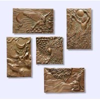 The Five Elements Plaque Set by Ann Zeleny