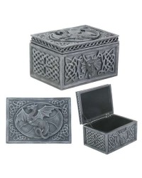 Dragon Celtic Jewelry Box Mystic Convergence Metaphysical Supplies Metaphysical Supplies, Pagan Jewelry, Witchcraft Supply, New Age Spiritual Store