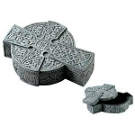 Celtic Cross Trinket Box at Mystic Convergence Metaphysical Supplies, Metaphysical Supplies, Pagan Jewelry, Witchcraft Supply, New Age Spiritual Store