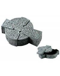Celtic Cross Trinket Box Mystic Convergence Metaphysical Supplies Metaphysical Supplies, Pagan Jewelry, Witchcraft Supply, New Age Spiritual Store