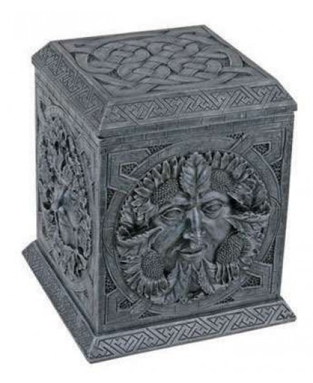 Greenman Four Seasons Box at Mystic Convergence Metaphysical Supplies, Metaphysical Supplies, Pagan Jewelry, Witchcraft Supply, New Age Spiritual Store