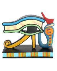 Wedjat Eye of Horus Mini Statue Mystic Convergence Metaphysical Supplies Metaphysical Supplies, Pagan Jewelry, Witchcraft Supply, New Age Spiritual Store