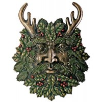 Greenman Fall Wall Plaque