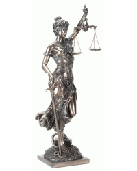 Lady Justice with Scales Bronze Statue Mystic Convergence Metaphysical Supplies Metaphysical Supplies, Pagan Jewelry, Witchcraft Supply, New Age Spiritual Store