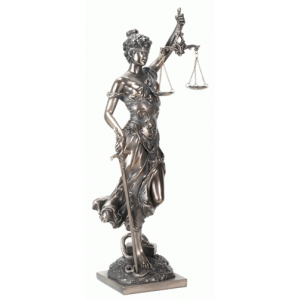 Lady Justice with Scales Bronze Statue Mystic Convergence Wiccan Supplies, Pagan Jewelry, Witchcraft Supplies, New Age Store