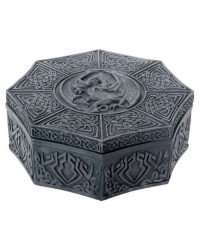 Celtic Dragon Octagonal Box Mystic Convergence Metaphysical Supplies Metaphysical Supplies, Pagan Jewelry, Witchcraft Supply, New Age Spiritual Store