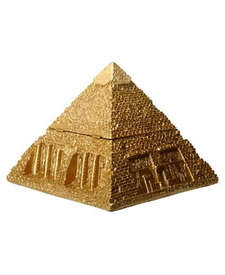 Pyramid Egyptian Golden 5 1/2 Inch Box at Mystic Convergence Metaphysical Supplies, Metaphysical Supplies, Pagan Jewelry, Witchcraft Supply, New Age Spiritual Store