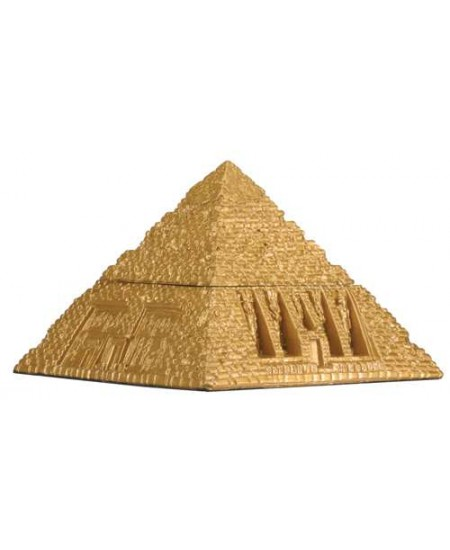 Pyramid Egyptian Golden 3 Inch Box at Mystic Convergence Metaphysical Supplies, Metaphysical Supplies, Pagan Jewelry, Witchcraft Supply, New Age Spiritual Store