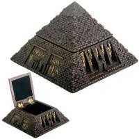 Pyramid Egyptian Bronze Finish 2 3/4 Inch Box
