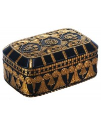 Scarab and Lotus Egyptian Revival Trinket Box Mystic Convergence Metaphysical Supplies Metaphysical Supplies, Pagan Jewelry, Witchcraft Supply, New Age Spiritual Store