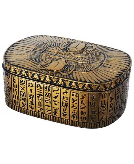 Winged Egyptian Revival Trinket Box at Mystic Convergence Metaphysical Supplies, Metaphysical Supplies, Pagan Jewelry, Witchcraft Supply, New Age Spiritual Store