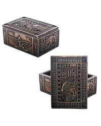 Isis Bronze Resin Jewelry Box Mystic Convergence Metaphysical Supplies Metaphysical Supplies, Pagan Jewelry, Witchcraft Supply, New Age Spiritual Store