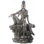 Kuan-Yin Water and Moon Goddess Statue at Mystic Convergence Magical Supplies, Wiccan Supplies, Pagan Jewelry, Witchcraft Supplies, New Age Store